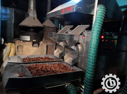 Chili-Spice-Roasting-Machine